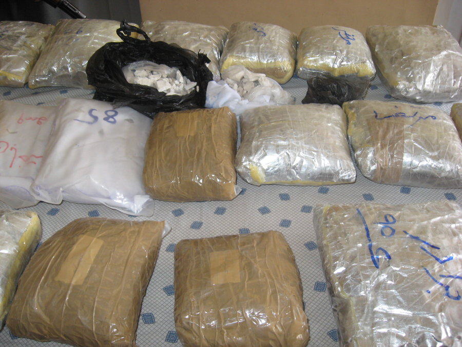 ناکامی قاچاقچی مواد مخدر در اصفهان