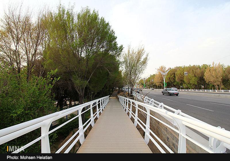 جزئیات پروژه تعریض پل فردوسی