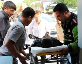 انفجار مهیب در بلوار نصر شیراز
