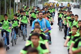 همایش دوچرخه سواری فرهنگ سازان جوان