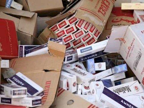 کشف ۳۰ هزار نخ سیگار قاچاق در پایتخت