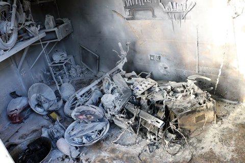 انفجار یک واحد مسکونی در خیابان بزرگمهر یک مصدوم داشت
