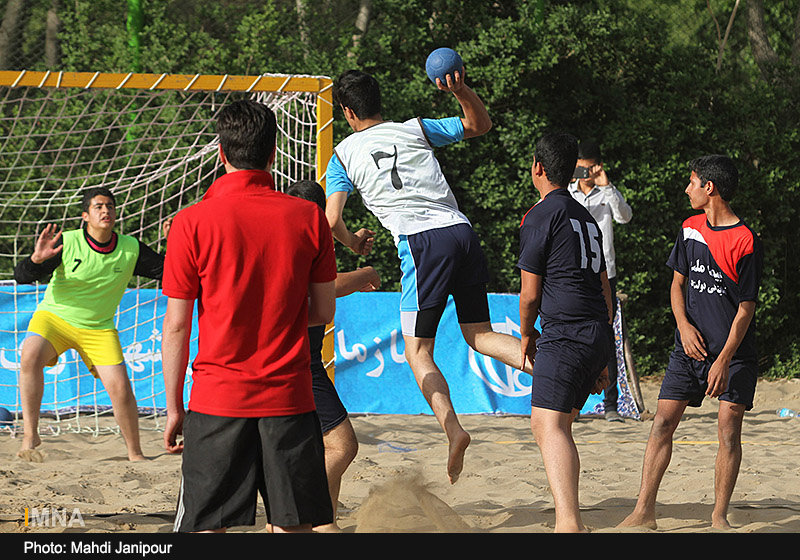 Isfahan commemoration week/ Beach Handball games