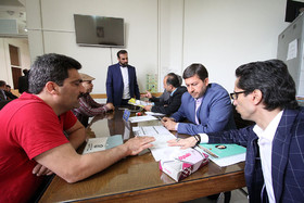 ملاقات مردمی شهردار اصفهان و معاونین با شهروندان منطقه ۲