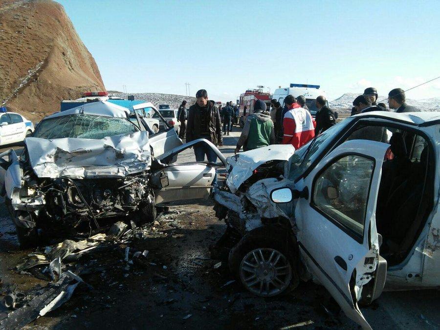 وقوع بیش از ۸۰ میلیارد ریال تصادف  خسارتی در اصفهان