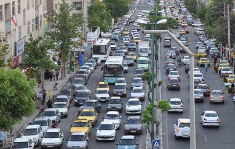 آخرین وضعیت ترافیکی خیابان های شهر اصفهان