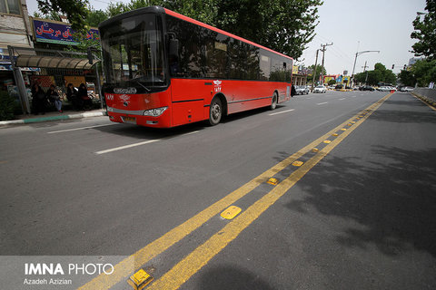 امکان تغییر فیزیکی در اتوبوس ها وجود ندارد