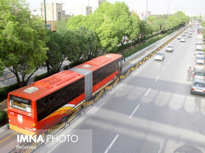 کاهش ۵۰ درصدی مسافران اتوبوسهای شهری در ایام کرونایی