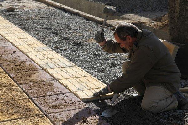اختصاص ۱۵۰ میلیون تومان به پروژه پیادهروسازی گلپایگان