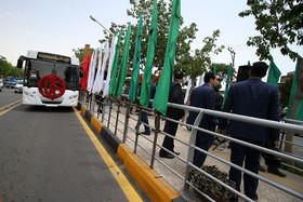 بهره برداری از سامانه اتوبوس تندروی اصفهان (۱)