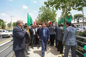 بهره برداری از سامانه اتوبوس تندروی اصفهان (۲)
