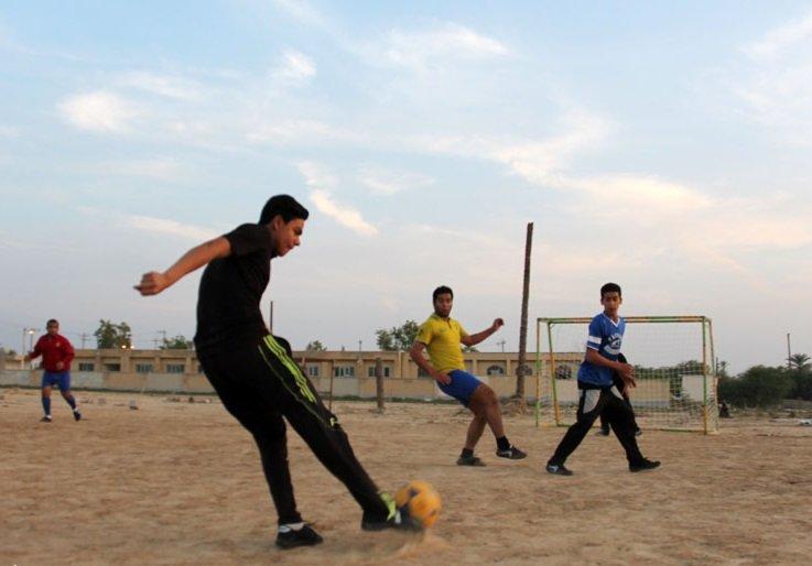 آماده سازی ۳۰۰ زمین در مسکن مهر گلپایگان برای بازی کودکان و نوجوانان