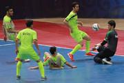 تمرین تیم ملی فوتسال زیر 23ساله ها در سالن 25 آبان اصفهان 