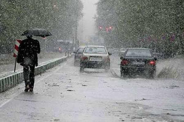 ورود موج بارشی به اصفهان از روز دوشنبه