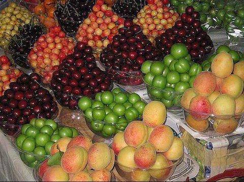 درمان سنگ کلیه و بوی دهان با میوه های تابستانی