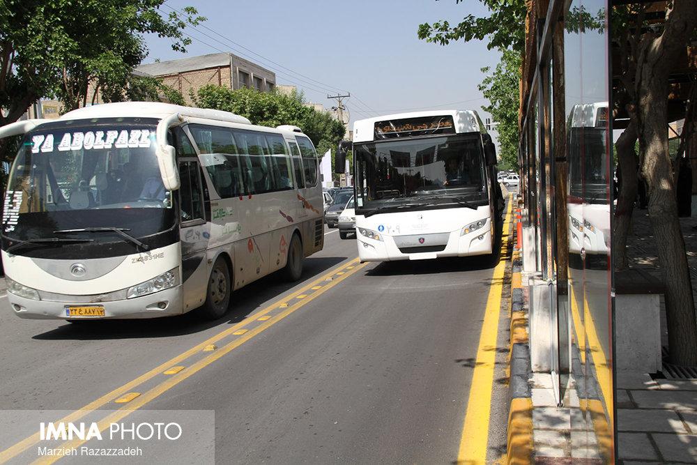 توضیحات مدیرعامل شرکت واحد اتوبوسرانی اصفهان در خصوص حادثه بی. آر. تی