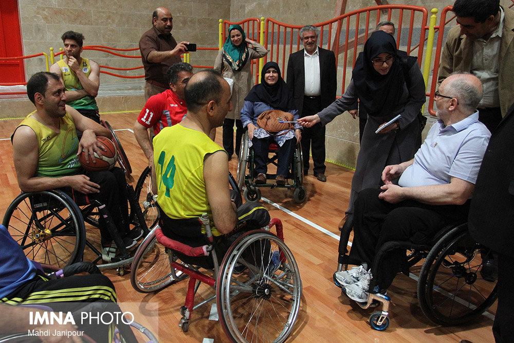 گسترش همکاری ورزشی بین بهزیستی و فدراسیون ورزشهای جانبازان و معلولین