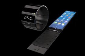 ساعت هوشمندی که در تمام جهات میچرخد