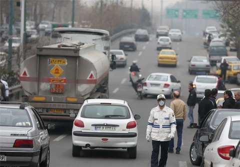 جریمه بیش از ۲۳ هزار خودروی دودزا