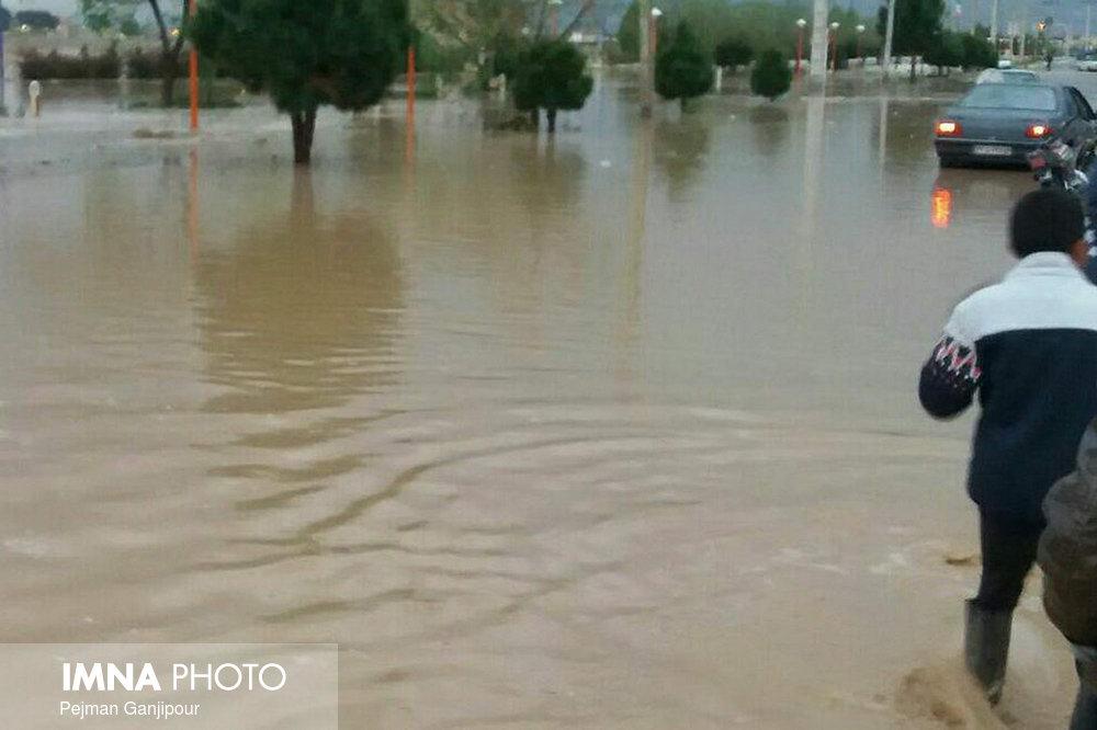 قطعی آب آشامیدنی ۱۴ روستای گلستان/فوت ۵ نفر بر اثر سیل در مازندران