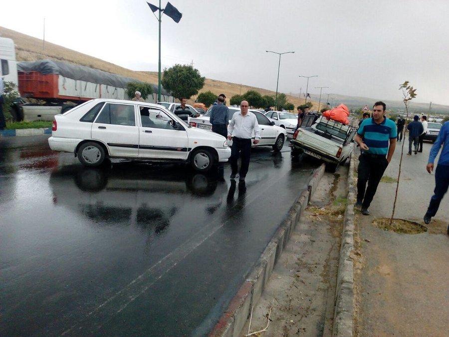 تدوین برنامه جامع کاهش آمار تصادفات جادهای برونشهری سمنان