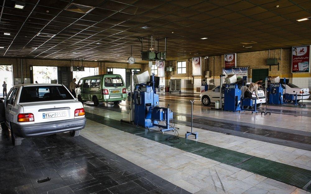 رشد ۱۱ درصدی آمار مراجعه به مراکز معاینه فنی خودروهای شهر اصفهان