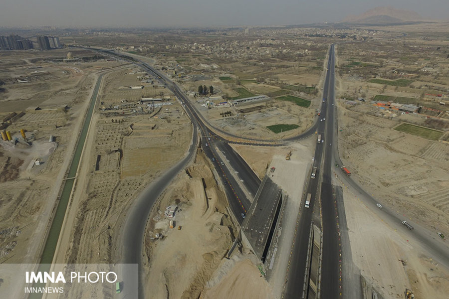"Only 1 % development left from ""Shahid-Balaei"" non-level intersection"
