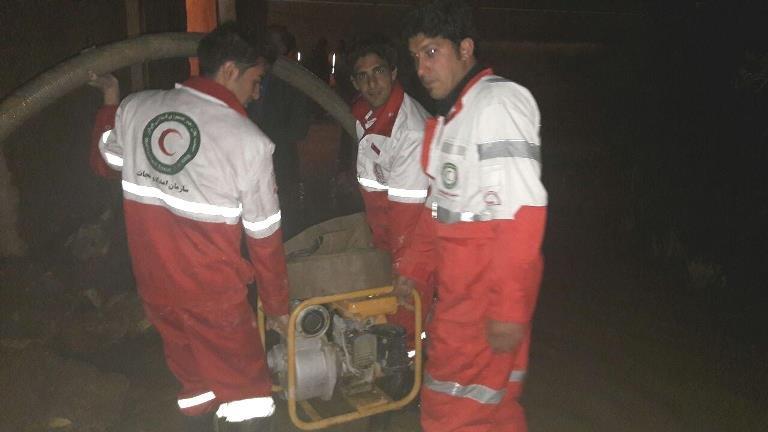 امدادرسانی به ۶۰۳ حادثه دیده ناشی از سیل و آبگرفتگی در استان