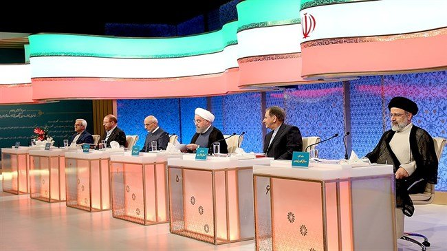 Candidates argue in last debate before Iran election