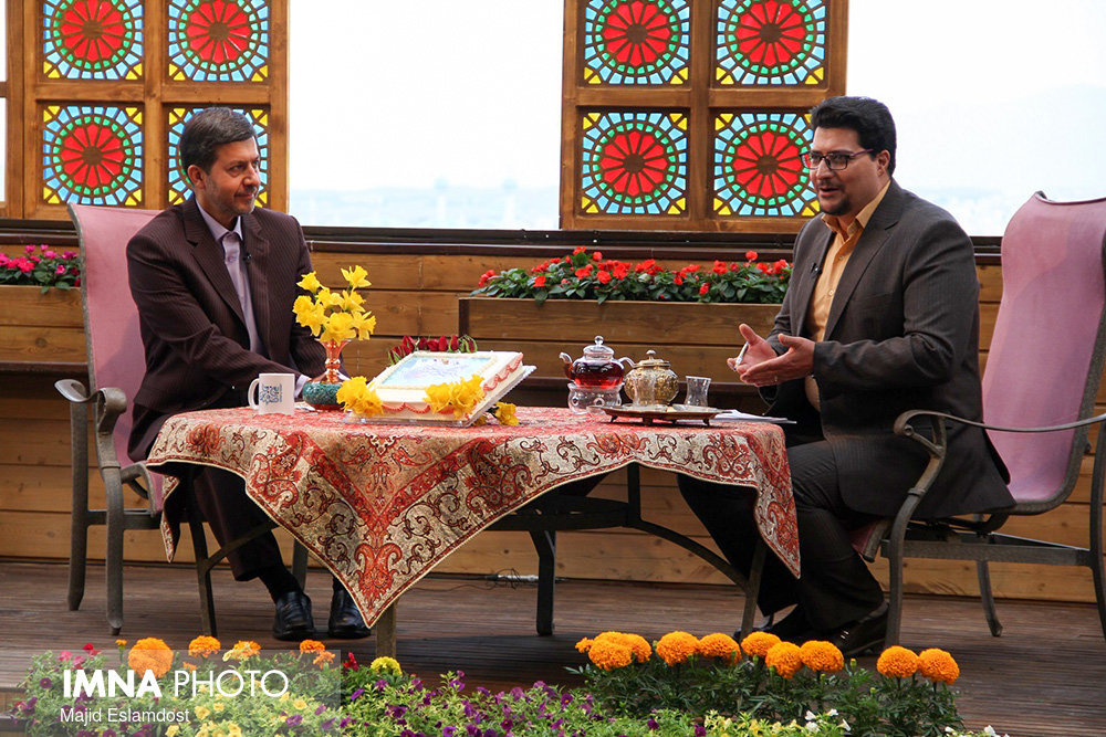 Isfahan mayor live on TV talk show