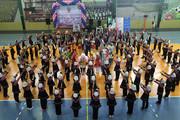 مراسم اختتامیه سومین دوره المپیاد ورزشی درون مدرسه ای