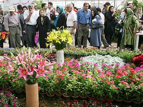 جشنواره گل و گیاه، مشاغل خانگی و ماهیهای زینتی در ایستگاه بیست و هشتم