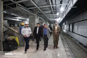 متروی اصفهان هیچ مشکل اعتباری و تأمین مصالح ندارد