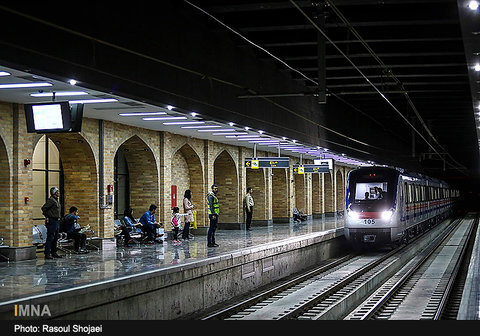 Subway honks its horn at Isfahan Azadi Sq.
