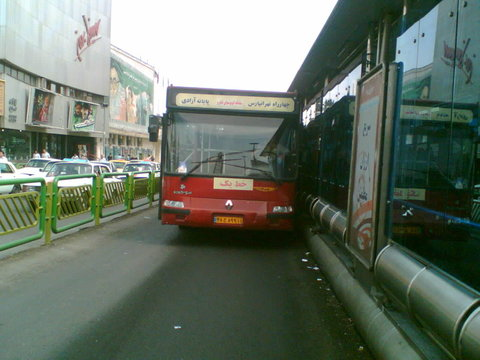 امکان مقایسه زمان سفر با اتوبوس و خودروی شخصی فراهم میشود