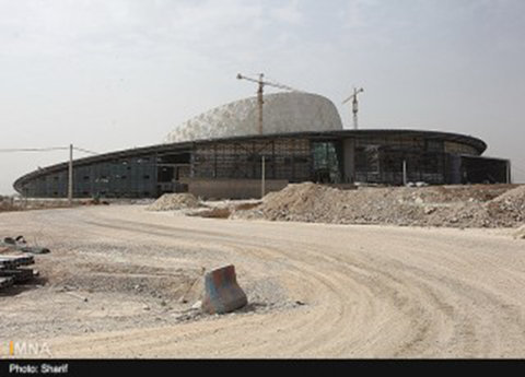 64 % development at Imam Khamenei International Conference Hall