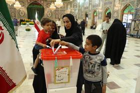 مشارکت 96درصدی مردم شهرستان نطنز در انتخابات/پیشتازی روحانی
