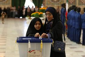 اتمام شمارش آراء ریاست جمهوری در چادگان/پیشتازی رئیسی در انتخابات