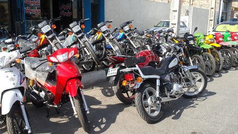 جمعآوری موتورسیکلتها در هسته مرکزی شهر قم