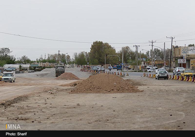 اتمام آزادسازی مسیر خیابانهای روشن دشت و ارغوانیه تا بهمن ماه ۹۹