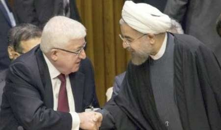 Iraqi president congratulates Rouhani on re-election
