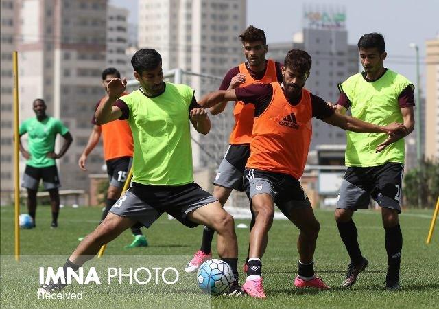 برگزاری نخستین تمرین تیم ملی فوتبال در پژوهشگاه نفت + تصاویر