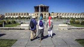 tourists in Iran