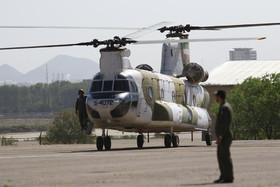 12 فروند بالگردهوانیروز ارتش پس از سال ها به پرواز در آمد