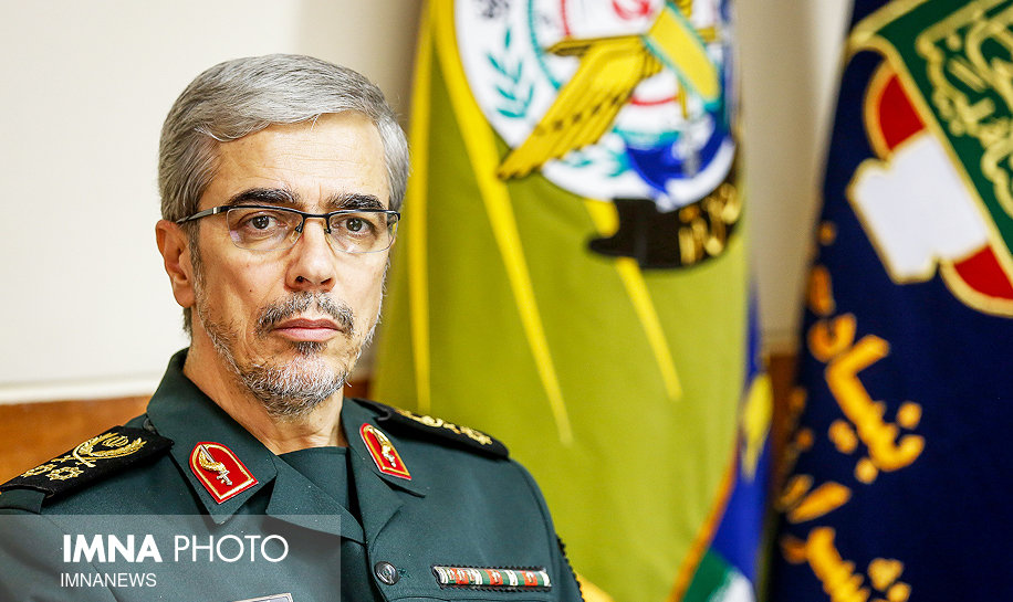 سرلشکر باقری: نیروهای مسلح ما در اوج آمادگی به سر می برند