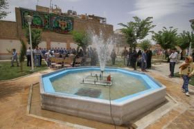 افتتاح پروژه های عمرانی ، ورزشی و رفاهی منطقه ۳ شهرداری اصفهان