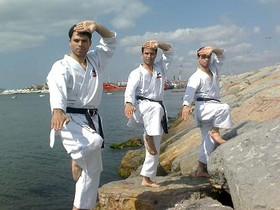 Karate bothers departed to Amsterdam