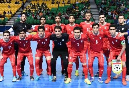 Iran's futsal team crowned Asian champion