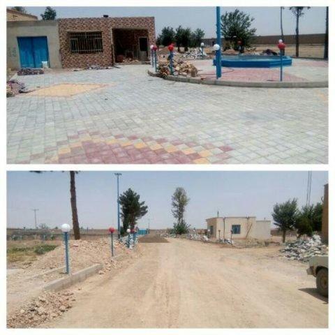 با وجود دو اثر تاریخی بلوک فرش خیابان امام خمینی به گردشگری گلپایگان رونق میبخشد