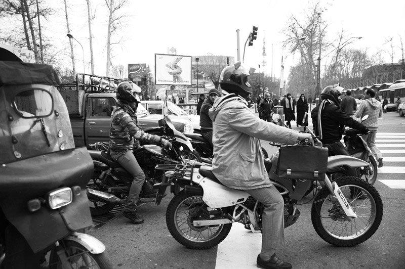سبقت موتورسیکلتها از خودروها در آلودگی هوا